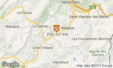 Carte Praz sur Arly Appartement 73196