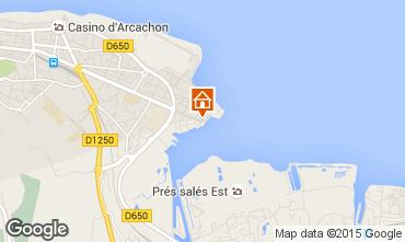 Carte Arcachon Appartement 81764