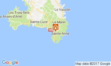 Carte Sainte Anne (Martinique) Studio 61497