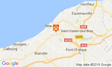 Carte Deauville Mobil-home 7634