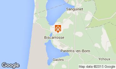 Carte Biscarrosse Mobil-home 95620