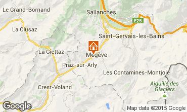Carte Megève Appartement 21360