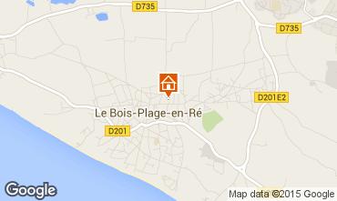 Carte Le Bois-Plage-en-Ré Maison 6969