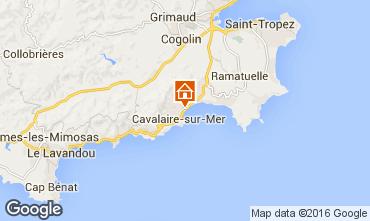 Carte Cavalaire-sur-Mer Appartement 102533