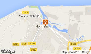 Carte Honfleur Studio 77332