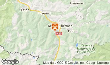 Carte Ax Les Thermes Chalet 67772