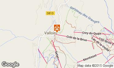 Carte Valloire Appartement 79621