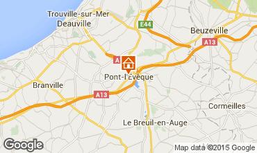 Carte Deauville Gite 77536