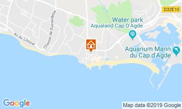 Carte Cap d'Agde Appartement 99055