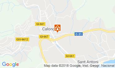 Carte Calonge Villa 54458