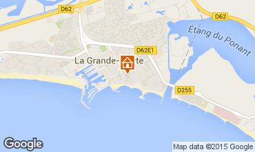 Carte La Grande Motte Appartement 73714