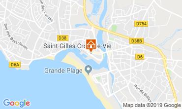 Carte Saint-Gilles-Croix-de-Vie Maison 118736