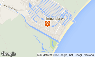 Carte Empuriabrava Villa 39089