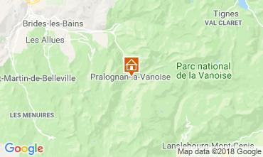 Carte Pralognan la Vanoise Maison 116066