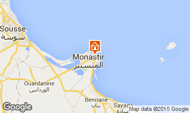 Carte Monastir Appartement 87542