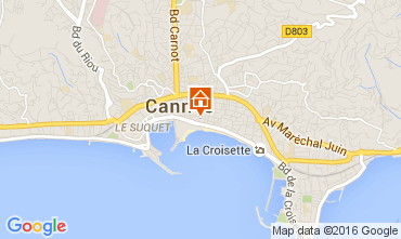 Carte Cannes Appartement 103922