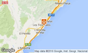 Carte La Ametlla de Mar Villa 103289