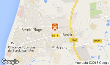 Carte Berck-Plage Appartement 86477