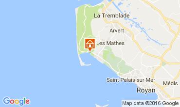 Carte La Palmyre Mobil-home 101986