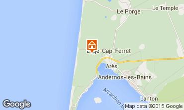 Carte Cap Ferret Villa 92053