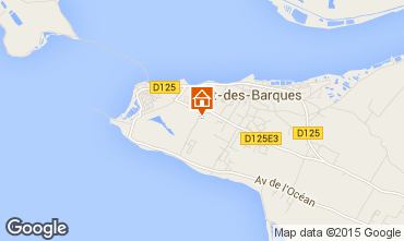 Carte Port des Barques Appartement 10859