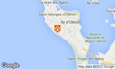 Carte Saint Pierre d'Oléron Appartement 28437