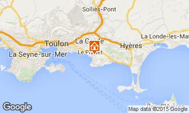 Carte Hyères Mobil-home 5775