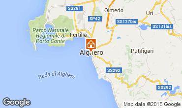 Carte Alghero Appartement 98249