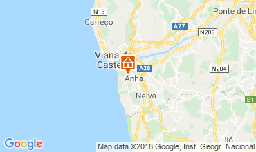 Carte Viana Do castelo Villa 116545