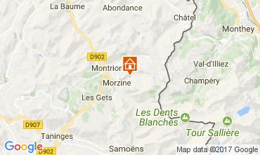 Carte Morzine Chalet 112052