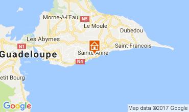 Carte Sainte Anne (Guadeloupe) Appartement 86596