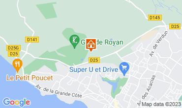 Carte Saint Palais sur Mer Appartement 41833