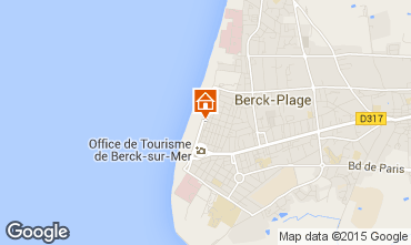 Carte Berck-Plage Appartement 8873