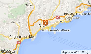 Carte Nice Appartement 81029