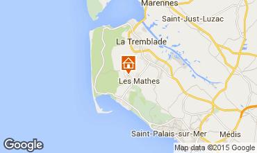 Carte La Palmyre Mobil-home 81106
