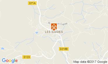 Carte Les Saisies Appartement 2719