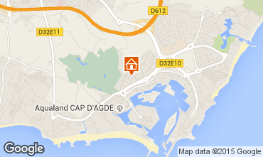Carte Cap d'Agde Appartement 85152