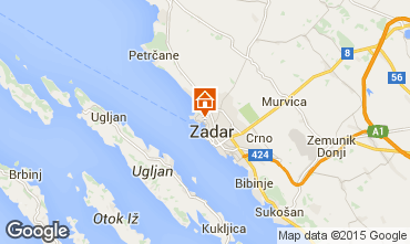 Carte Zadar Appartement 24286