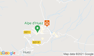 Carte Alpe d'Huez Studio 80613