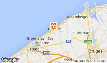 Carte Ostende Appartement 86926