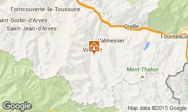 Carte Valmeinier Chalet 95572