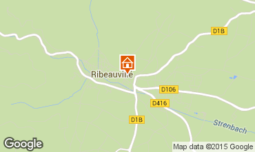 Carte Ribeauvill� Appartement 74066