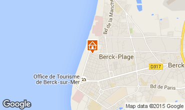 Carte Berck-Plage Appartement 8889