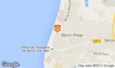 Carte Berck-Plage Appartement 8889