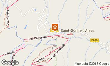 Carte Saint Sorlin d'Arves Appartement 2684