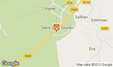 Carte Saint Lary Soulan Appartement 4439