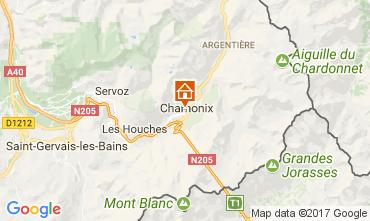 Carte Chamonix Mont-Blanc Appartement 112088