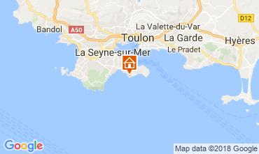 Carte Saint Mandrier sur Mer Villa 115188