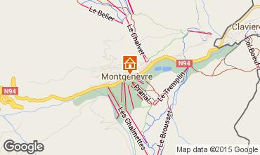 Carte Montgenevre Maison 16964