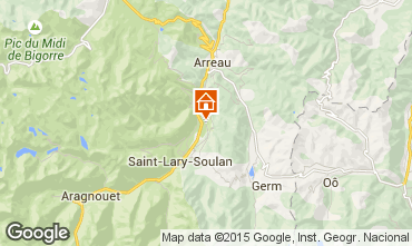 Carte Saint Lary Soulan Chalet 90787